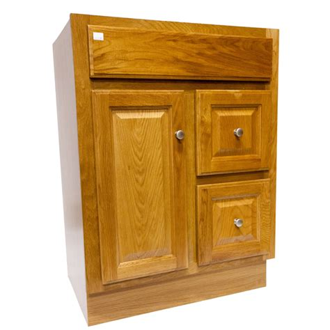 bathroom vanity regal oak     door  drawers