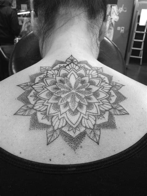Dotwork Mandala   Black Sword Tattoo Parlour