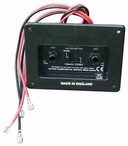 Marshall Buchsenanschlussplatte Stereo  Mono