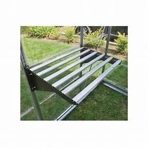 Etagere Pour Serre : etag re renforc e en aluminium pour serre l 62 x p42 cm ~ Premium-room.com Idées de Décoration