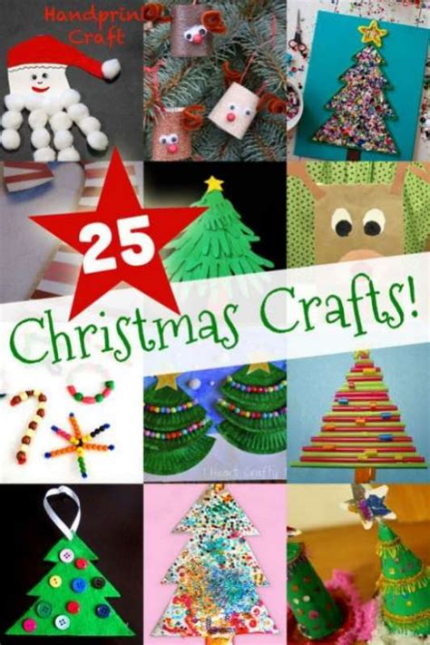 creative christmas art and craft 25 easy crafts for to make on as we grow