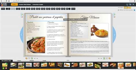recette de cuisine en gratuit faire livre de recettes