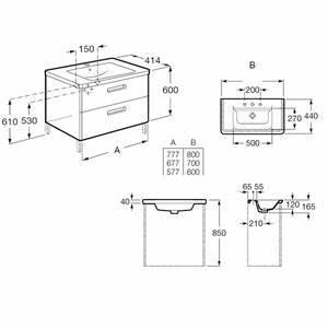 Dimension Lavabo Salle De Bain : taille standard lavabo simple dimension with taille ~ Premium-room.com Idées de Décoration