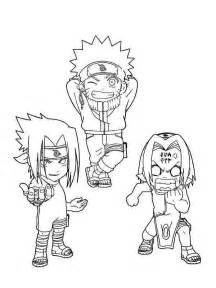 Naruto Sakura Coloring Pages
