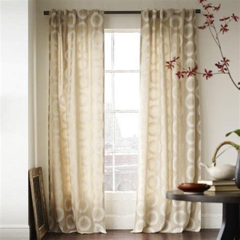 geometric pattern sheer curtains drapery ideas for the modern home