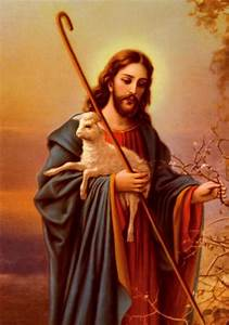 Jesus Holding The Sheep 5d Diy Diamond Painting Embroidery ...