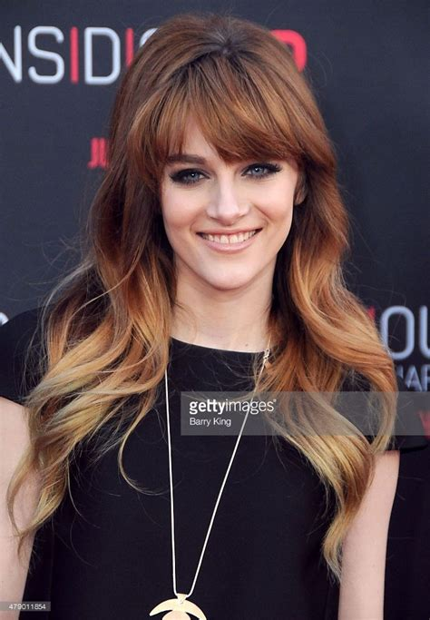 Actress Aubrey Peeples attends the premiere of Focus ...