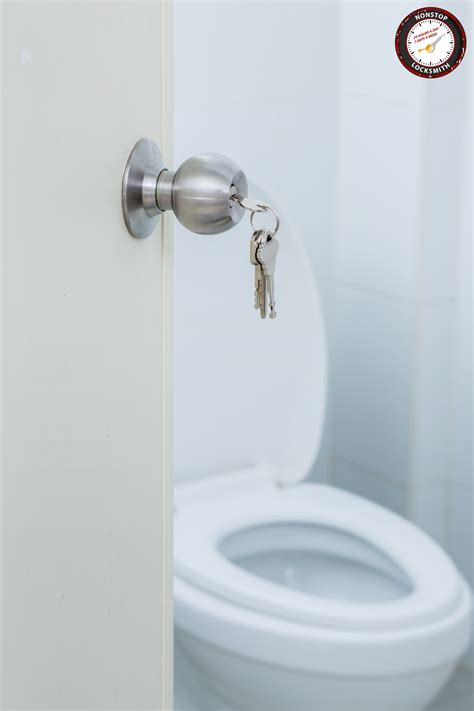 bathroom door lock security nonstop locksmith
