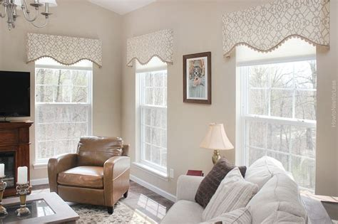 Valances Window Treatments For Living Room by Best 25 Valances For Living Room Ideas On
