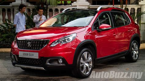 Peugeot Malaysia by 2017 Peugeot 2008 Facelift Launched In Malaysia 1 2l