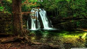 Waterfall Forest 4K HD Desktop Wallpaper for 4K Ultra HD ...