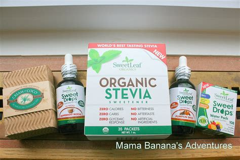 Sweet Leaf Organic Stevia Review Mama Bananas Adventures
