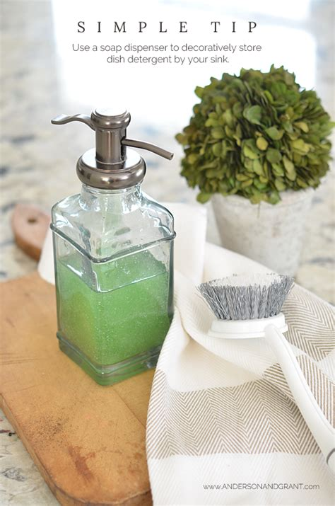 dish soap dispenser   farmhouse kitchen dish soap