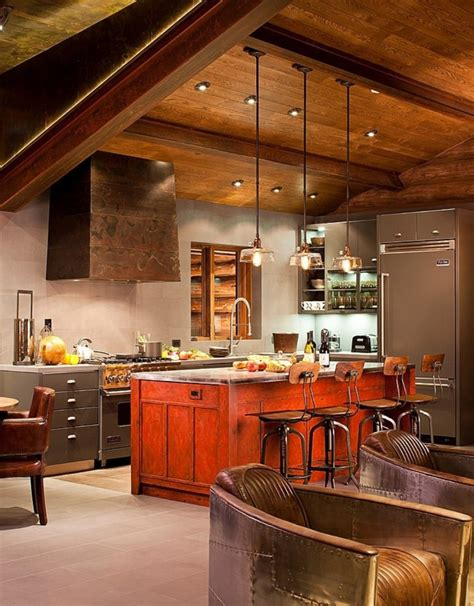 cabin kitchens ideas rustic kitchens design ideas tips inspiration