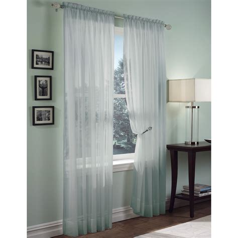 Kmart Sheer Curtain Panels by Sheer Voile Panel Add Sheer Elegance To Your Windows From