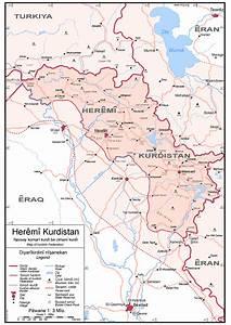 Kurdistan Maps