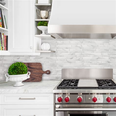 smart tiles kitchen backsplash peel and stick kitchen backsplash smart tiles 5573