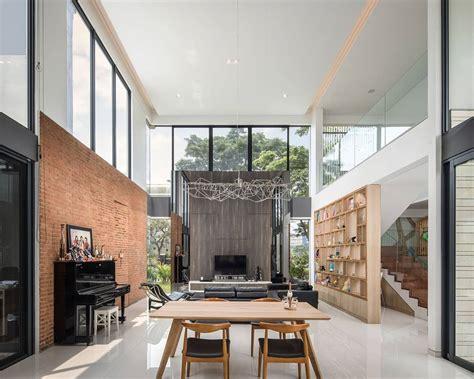desain rumah minimalis  lantai  keluarga muda