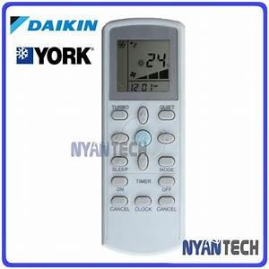 Daikin Split Type Air Conditioner Manual