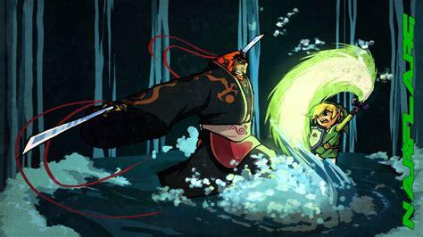 The Legend Of Zelda The Wind Waker Ganondorf Battle