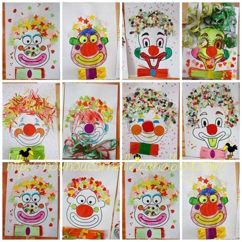 clown gesicht basteln bildergebnis f 252 r clown malen bastelideen clowns malen clowns und fasching