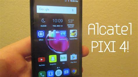 alcatel pixi 4 review youtube