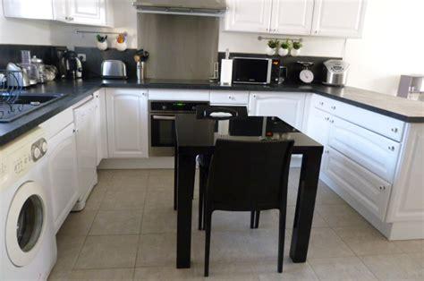 interieur cuisine cuisine blanche noir inox photo 2 8 3498447