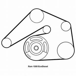 2002 Dodge Ram 1500 Serpentine Belt Diagram