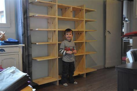 Fabriquer Une étagère  Bibliothèque Colin@colinonet