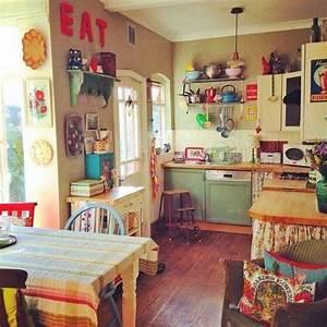 27, cool, vintage, kitchen, decorations, ideas