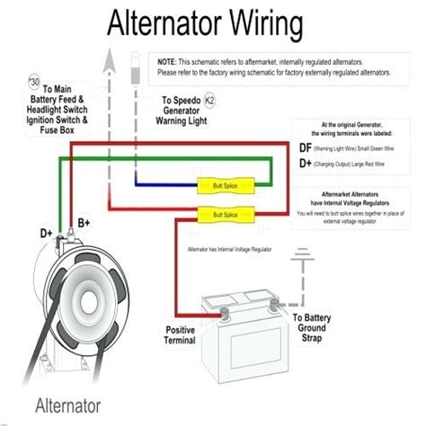 alternator wiring diagram vw beetle schematic symbols