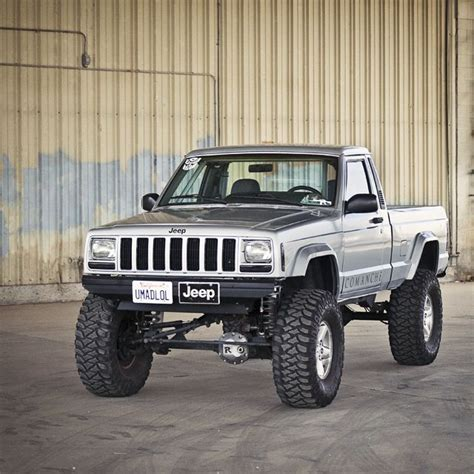 jeep comanche pickup truck jeep comanche 4x4 truck badass outdoor adventures