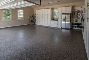 the benefits of epoxy garage floor coatings all garage With how much to paint concrete floor