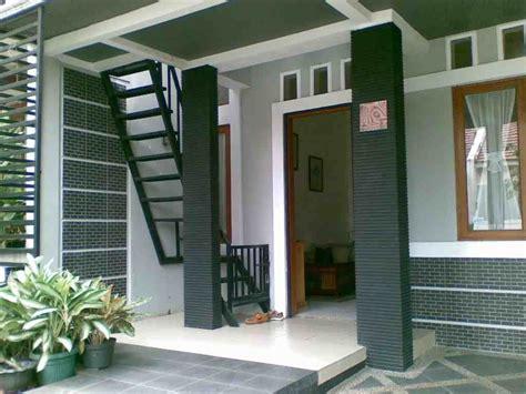 contoh model desain tangga rumah minimalis modern