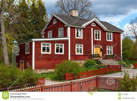 maison en bois su 233 doise typique stockholm photo stock image 47734801