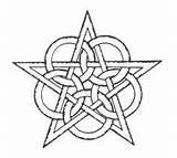 Pentagram Pentacle sketch template