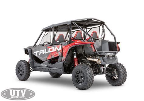 Honda Talon 2020 by 2020 Honda Talon 1000x 4 1000x 4 Fox Live Valve Utv Guide