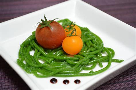 molecular cuisine arugula spaghetti molecular gastronomy experiment no 1
