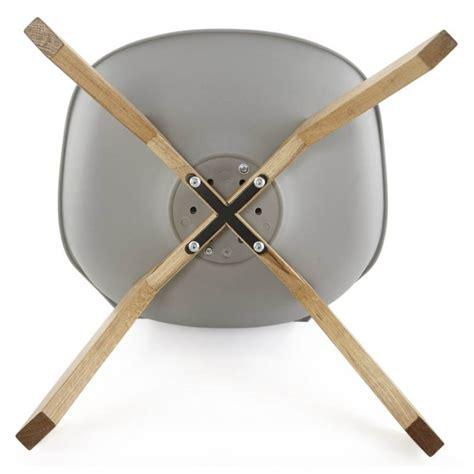chaise simili cuir gris chaise moderne style scandinave sirene en simili cuir gris