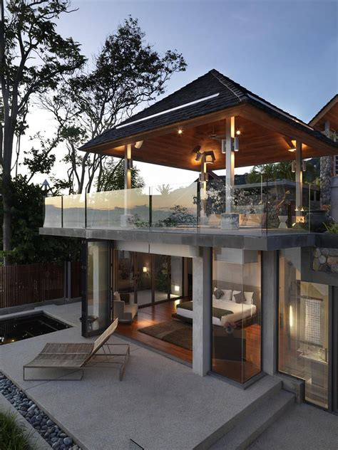 modern house thailand a private villa is a mix of modern and traditional thai design the samsara house 5 if it s