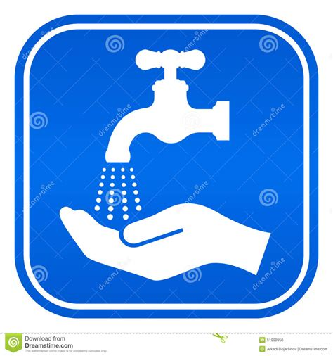 kitchen faucet prices wash sign stock vector image 51998850