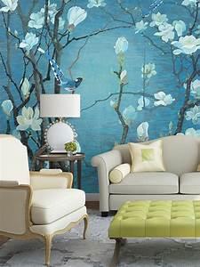 Tapisserie 4 Murs : tapisserie asiatique sur mesure papier peint chinois ~ Zukunftsfamilie.com Idées de Décoration