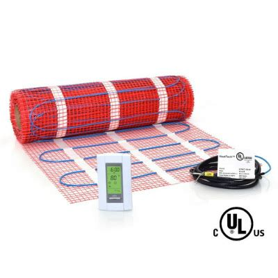 Electric Radiant Heat Mat - best electric radiant floor heating reviews in 2018