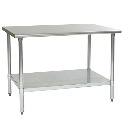 stainless steel table l eagle group t3660se 36 quot x 60 quot stainless steel work table