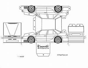 11+ Best Paper Car Templates & Designs! Free & Premium Templates