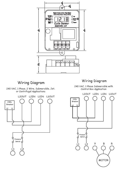 cycle sensor pump monitor wiring diagram ph cycle