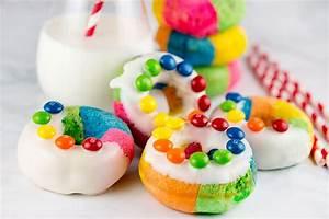Rainbow Donuts - xoxoBella