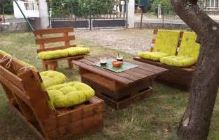 Comment Faire Un Salon De Jardin En Palette by Fabriquer Un Salon De Jardin En Palettes C Est Pas Moi