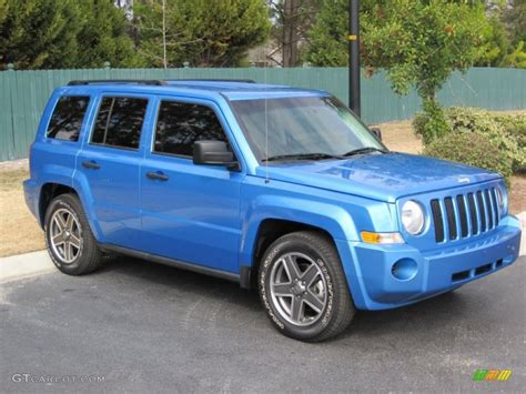 Surf Blue Pearl 2009 Jeep Patriot Sport Exterior Photo