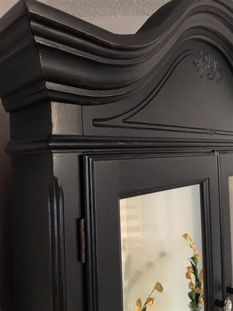 hutch  lamp black milk paint general finishes design